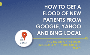 Get of flood of new patients from Google